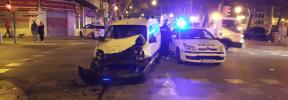 Accidente, atropello y fuga en Plaza Fleming de Palma