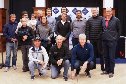 Imagen de la entrega de premios del Trofeo Sant Sebastià.