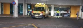 Dos heridos en un incendio en la antigua cárcel de Palma