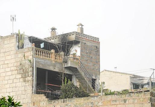 El incendio de Vilafranca se originó en un brasero situado en la cocina. Foto: