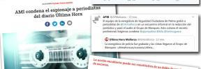 La Asociación de Medios de Información condena el espionaje a periodistas de 'Ultima Hora'