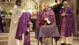 Miércoles de Ceniza en la Catedral de Mallorca