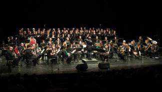 La banda de Manacor dedica un concierto a la 'música estadounidense'