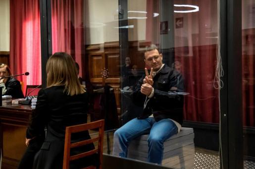 El acusado Norbert Feher, conocido como Igor el Ruso, durante el juicio.