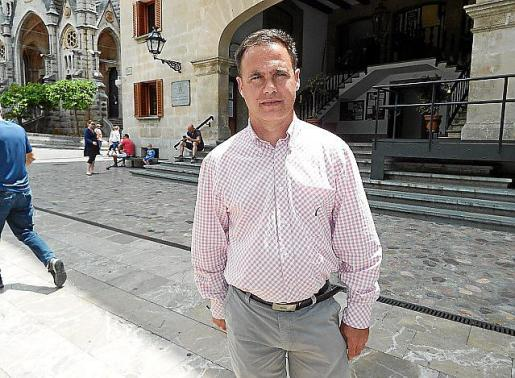 Jaume Bestard (PI) dejará de ser pronto el 'concejal bisagra'.