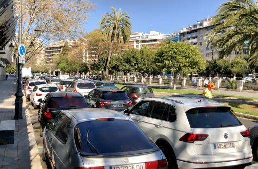 Palma es una de las ciudades con más tráfico de España.