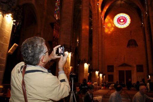 Este domingo podrá verse el 'vuit' de la Catedral de Mallorca.
