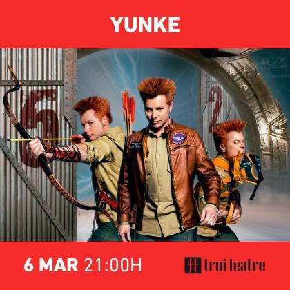 Yunke presenta su espectáculo en Trui Teatre.