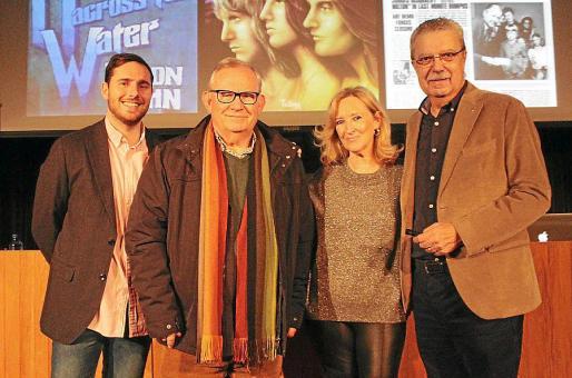 José María Vicens, Pancho Roses, Nanda Obrador y Josep Ferrer.