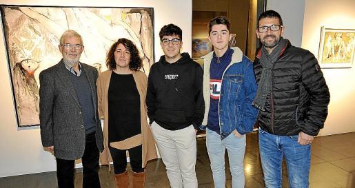Antoni Marquet, María Ramón, Toni Marquet, Xavier Marquet y Antoni Marquet.