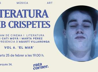 'Literatura amb crispetes' en Rata Corner