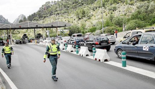 La Guardia Civil de Tráfico no intervino y se limitó a controlar la seguridad viaria.