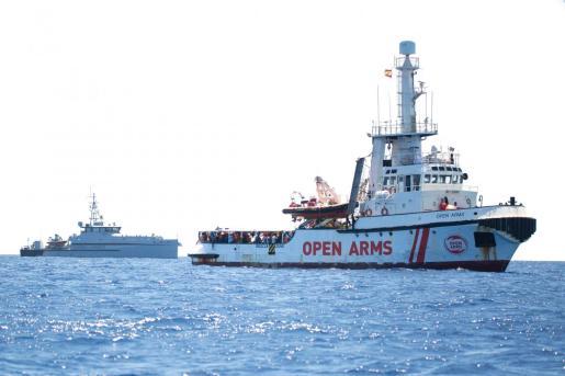 El barco de Proactiva Open Arms se encuentra en aguas de Malta.