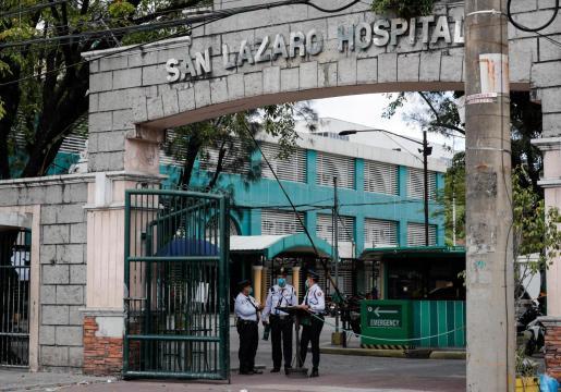 El Hospital San Lazaro, de Filipinas, confirma el primer fallecido por coronavirus.