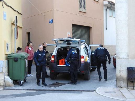 Guardia Civil y Policía Local practicaron el arresto del agresor acusado de violencia de género.