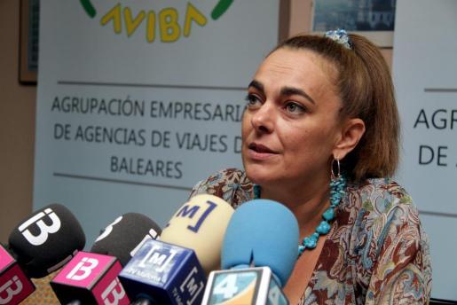 Silvia Riera, presidenta de Aviba, en una imagen de archivo.