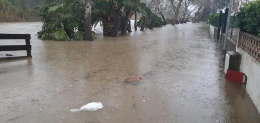 La borrasca 'Gloria' causó inundaciones en diferentes puntos de Baleares.