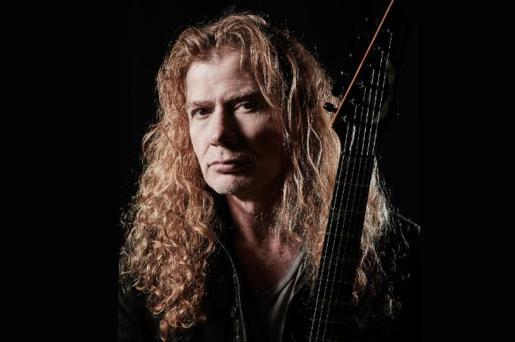 El vocalista de la banda Megadeth, Dave Mustaine.