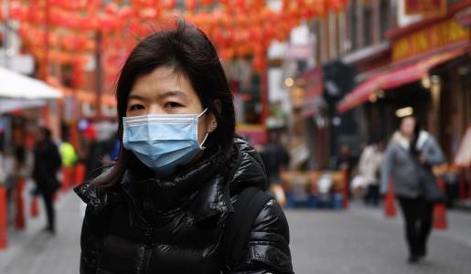 Una ciudadana china, en Londres.