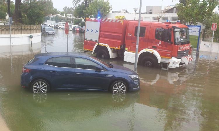 El paso de la DANA en Mallorca: lluvias torrenciales y descenso de temperaturas