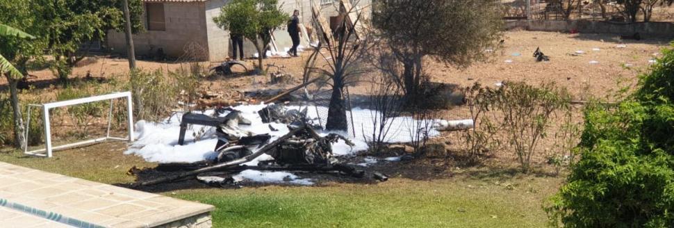 Al menos 7 fallecidos al chocar un helicóptero y un ultraligero entre Inca y Costitx