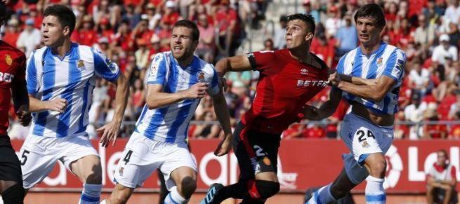El Mallorca pierde por la mínima ante la Real Sociedad