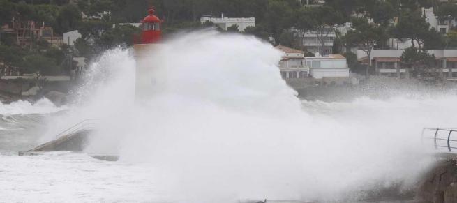 Alerta en Baleares ante la llegada del «histórico» temporal 'Gloria'