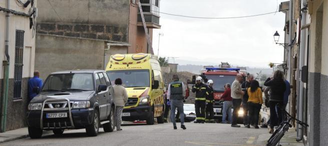Consternación en Vilafranca por la muerte de un niño de cinco años en un incendio