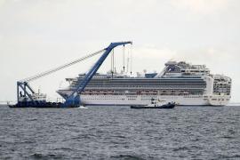 Un crucero con 3.700 personas a bordo, en cuarentena en Japón ante posibles casos de coronavirus