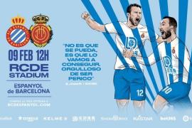 El Espanyol moviliza a su afición para recibir al Mallorca