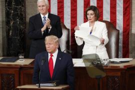 Trump ataca a la inmigración y presume de sus logros económicos