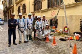 ARCA pide rehabilitar el refugio antiaéreo de la Cofradía de San Miquel