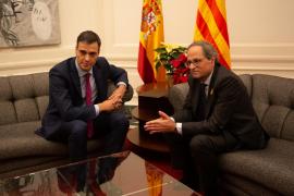 Sánchez afronta la reunión con Torra con voluntad de diálogo pero sin expectativa de acuerdo