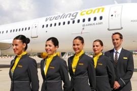Vueling convoca una jornada de selección en Palma para incorporar nuevos tripulantes de cabina