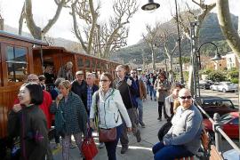 Tren de Sóller restablece el servicio tras tres meses de parada técnica