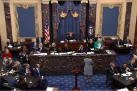 El Senado de EEUU absuelve a Trump