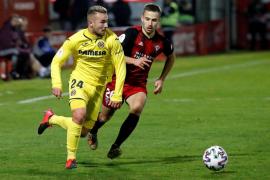El Mirandés, segundo semifinalista en la Copa del Rey tras tumbar al Villareal