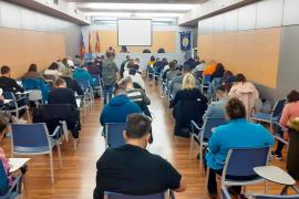 Más de 260 personas se presentan al examen de taxista en Palma