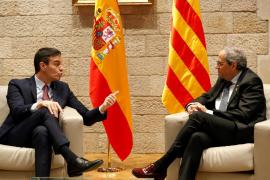 Sánchez propone a Torra iniciar este mes de febrero la mesa de diálogo político