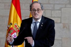 Quim Torra: «Sánchez no se ha movido sobre la autodeterminación»