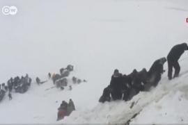 Ascienden a 41 los muertos y 75 los heridos por las avalanchas de nieve en Turquía