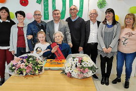 Mercedes Arjona, una inquera centenaria