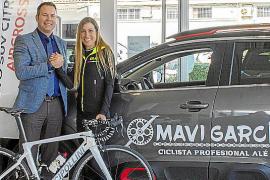 Mavi García, nueva embajadora sobre ruedas de Citroën PSA-Retail Palma