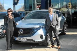La caravana Mercedes Benz EQC llegó a Autovidal