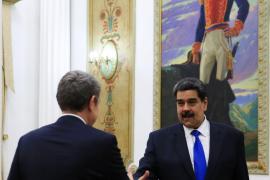 Zapatero se reúne por sorpresa con Maduro