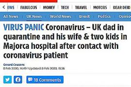 La prensa británica se hace eco del posible caso de Mallorca evitando usar un tono alarmista