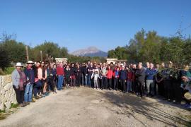 Los restos de Joan Ferrà, víctima del franquismo, descansan ya en Puigpunyent
