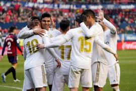 El Madrid impone su ley