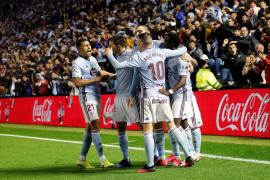 El Celta remonta y empuja al Mallorca a puestos de descenso