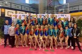 Histórico triplete balear en la Liga Iberdrola de gimnasia artística